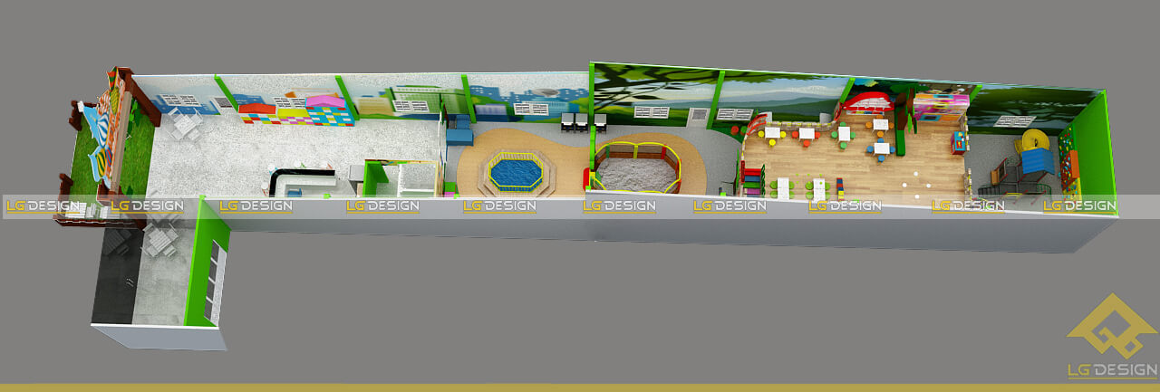 GOADESIGN Tư vấn thiết kế thi công khu vui chơi Nhơn Trạch Đồng Nai (1)