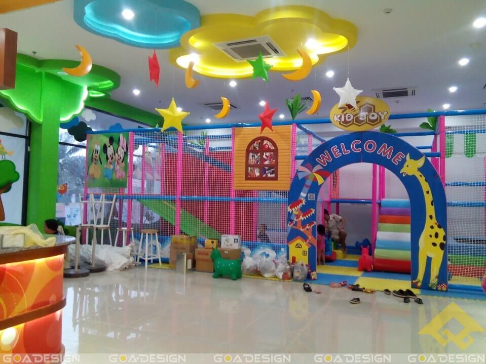GOADESIGN Thiết kê khu vui chơi Kidjoy Bình Chánh (2)