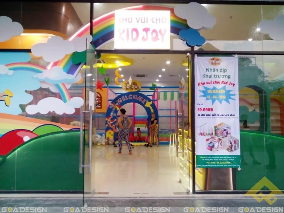 GOADESIGN Thiết kê khu vui chơi Kidjoy Bình Chánh (29)