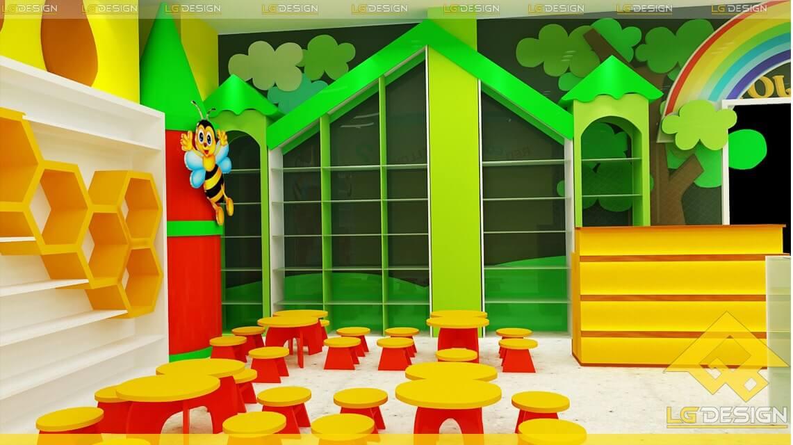 GOADESIGN Thiết kê khu vui chơi Kidjoy Bình Chánh (3)