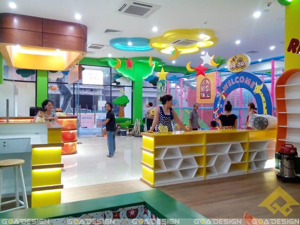 GOADESIGN Thiết kê khu vui chơi Kidjoy Bình Chánh (6)