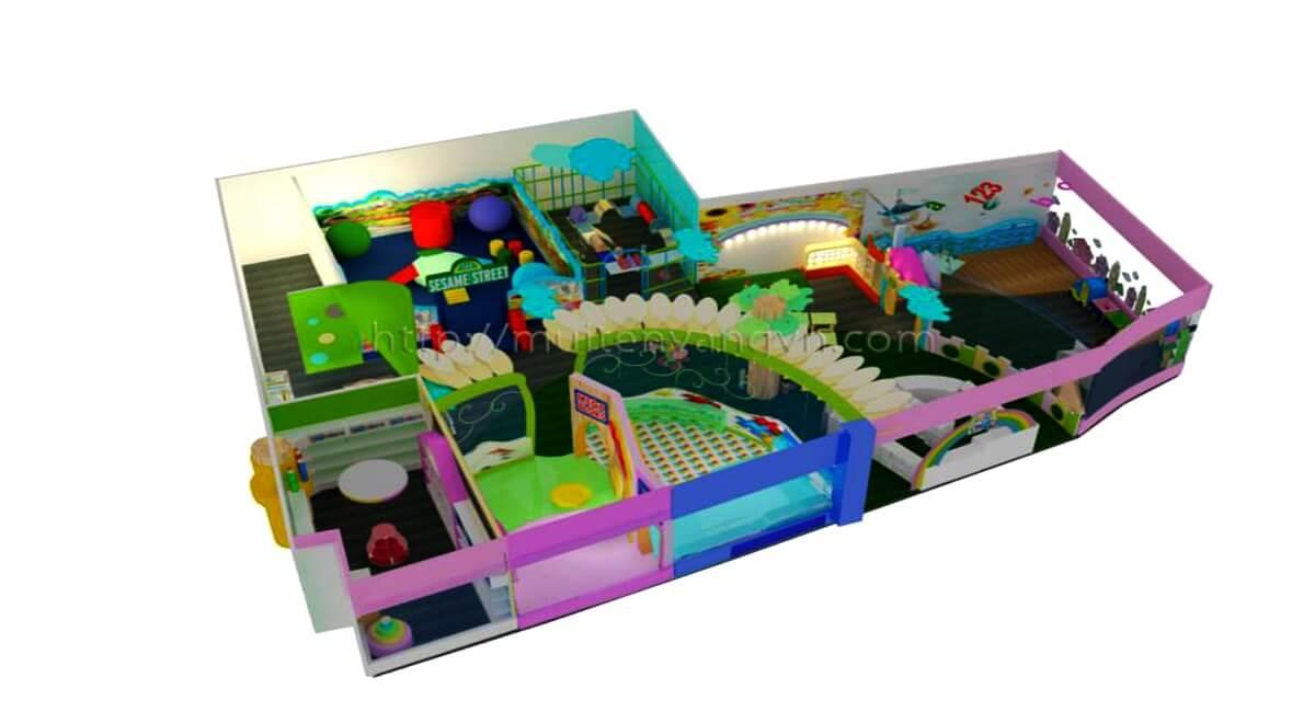 GOADESIGN Thiết kế khu vui chơi CoopMart - Lý Thường Kiệt (17)