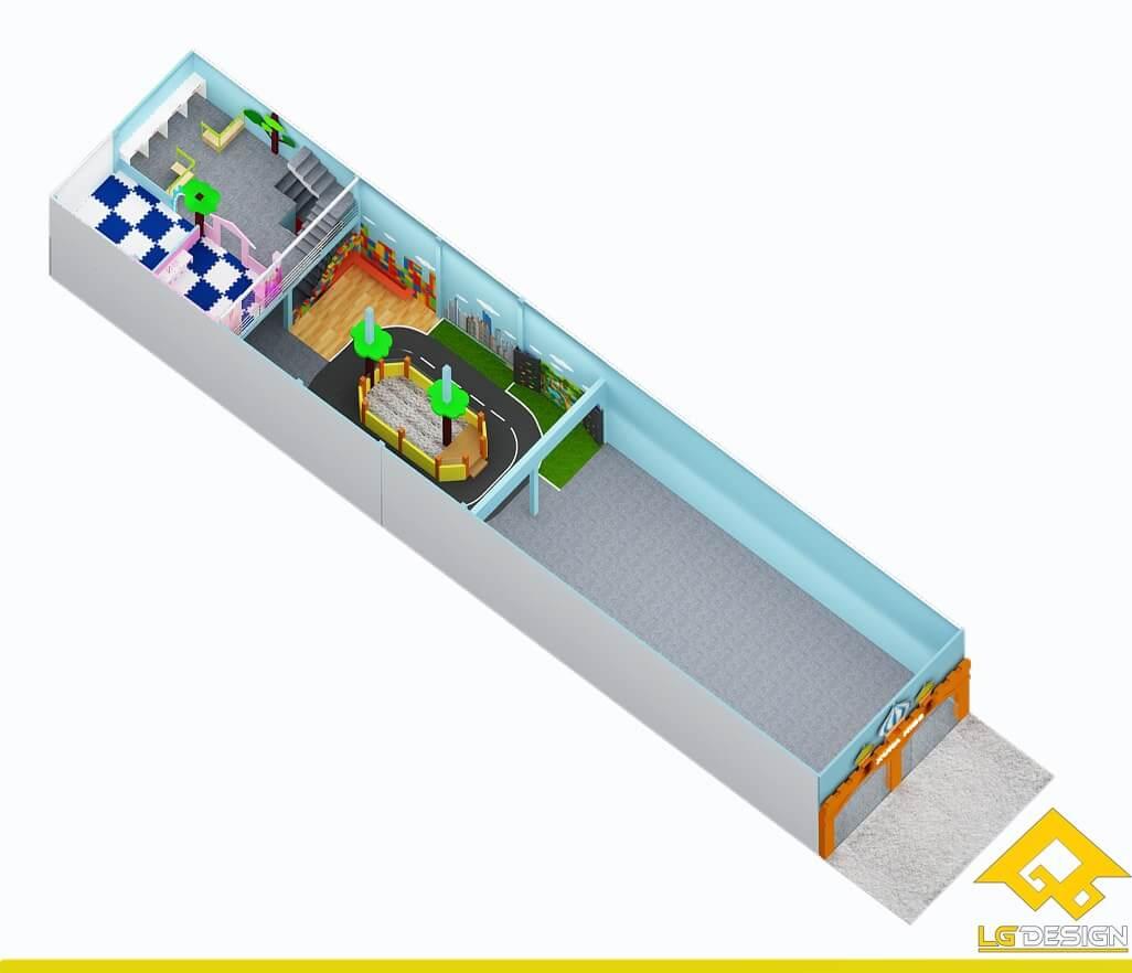 GOADESIGN Thiết kế khu vui chơi KVC Xuka kid Q12 (10)