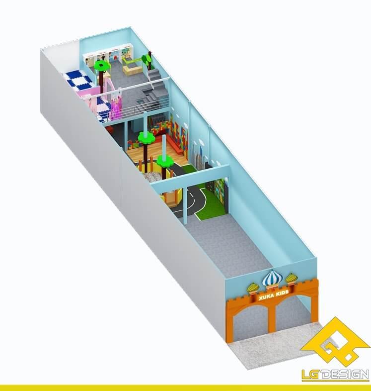 GOADESIGN Thiết kế khu vui chơi KVC Xuka kid Q12 (9)