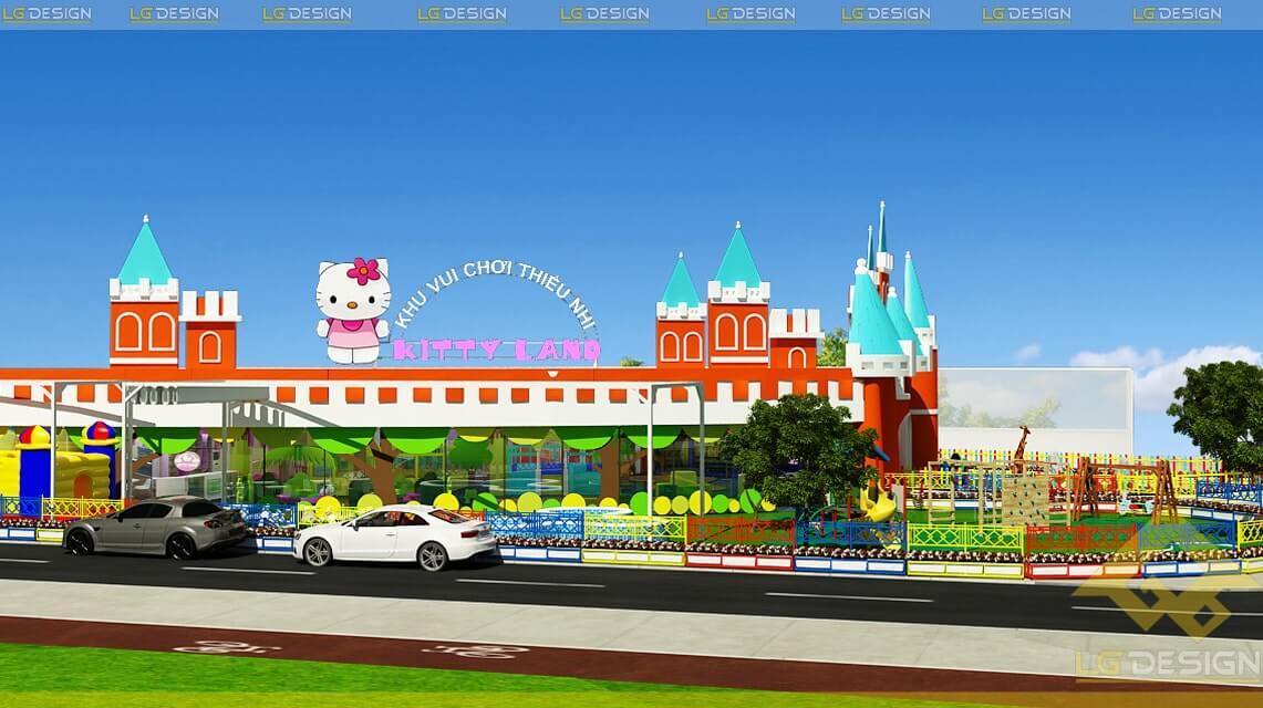 GOADESIGN Thiết kế khu vui chơi Kidzone - Kiên Giang (1)