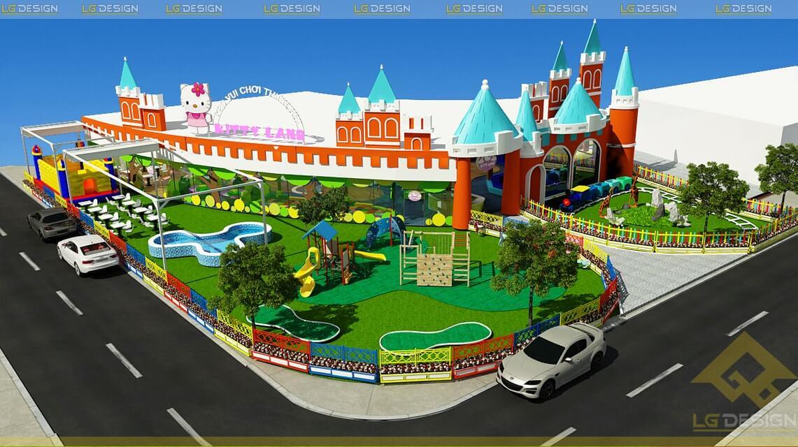 GOADESIGN Thiết kế khu vui chơi Kidzone - Kiên Giang (19)