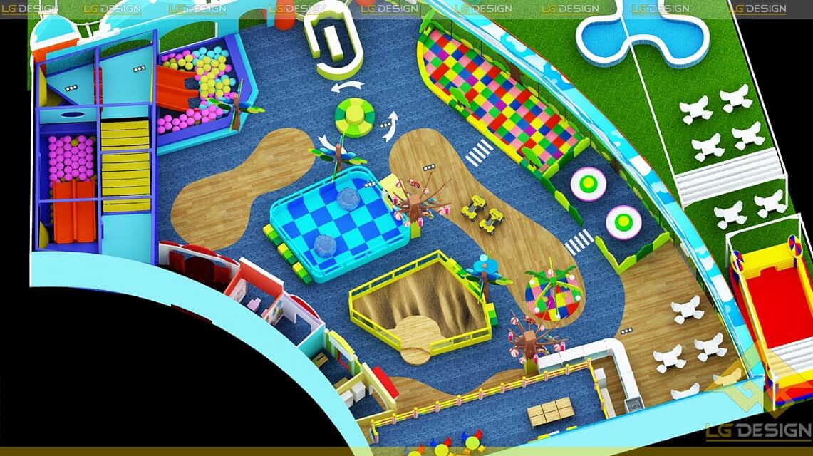 GOADESIGN Thiết kế khu vui chơi Kidzone - Kiên Giang (6)