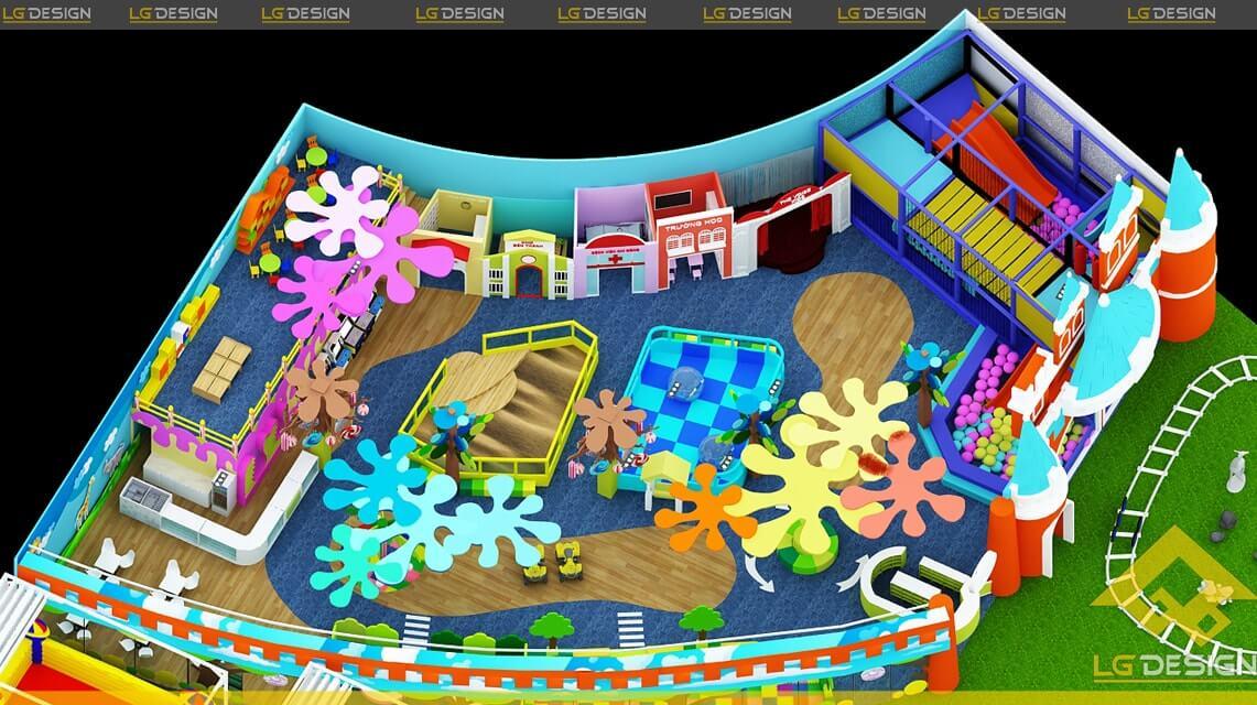 GOADESIGN Thiết kế khu vui chơi Kidzone - Kiên Giang (7)