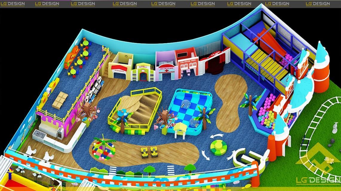 GOADESIGN Thiết kế khu vui chơi Kidzone - Kiên Giang (8)
