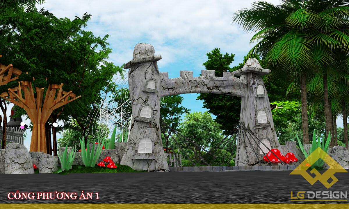 GOADESIGN Thiết kế khu vui chơi Lâu đài kỳ thú (1)