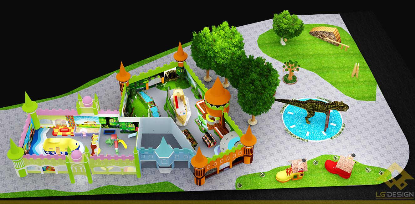GOADESIGN Thiết kế khu vui chơi Lâu đài kỳ thú (10)