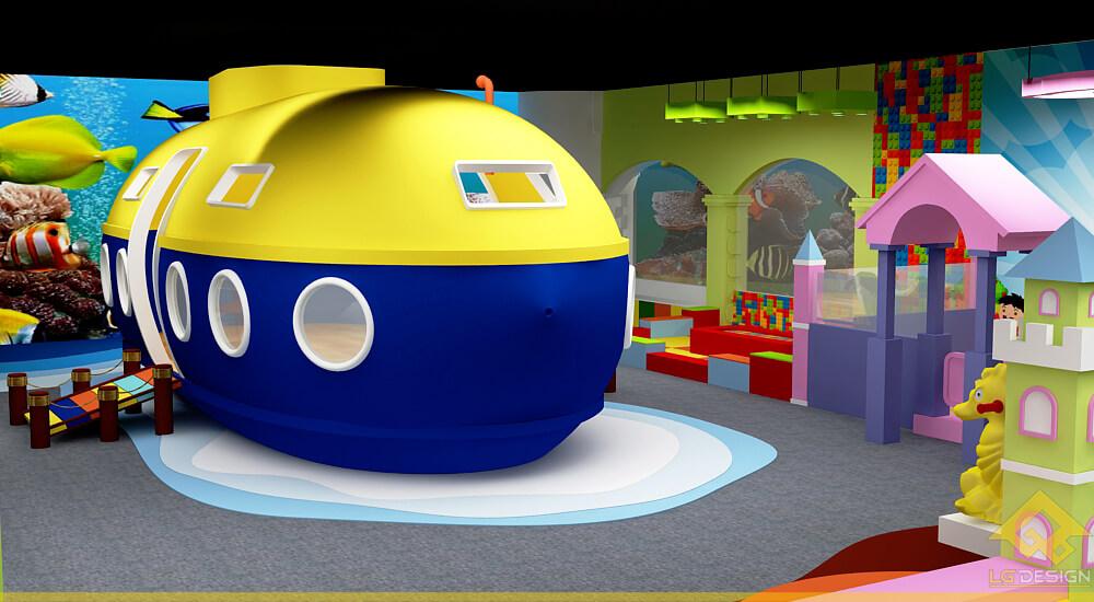 GOADESIGN Thiết kế khu vui chơi Lâu đài kỳ thú (11)