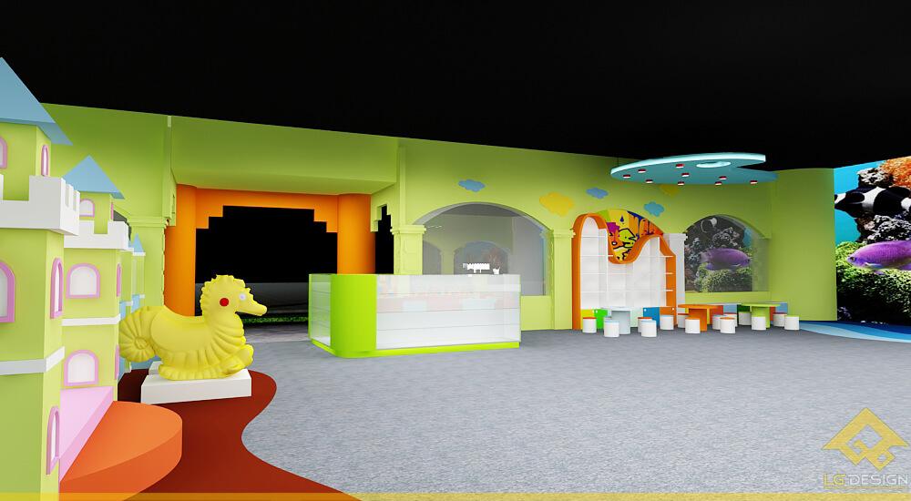 GOADESIGN Thiết kế khu vui chơi Lâu đài kỳ thú (15)