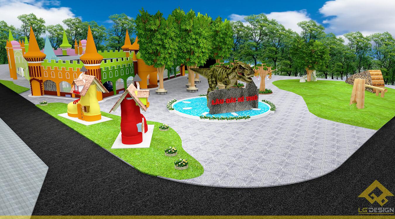 GOADESIGN Thiết kế khu vui chơi Lâu đài kỳ thú (19)