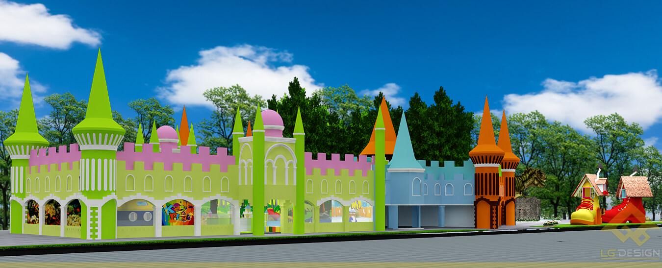 GOADESIGN Thiết kế khu vui chơi Lâu đài kỳ thú (20)