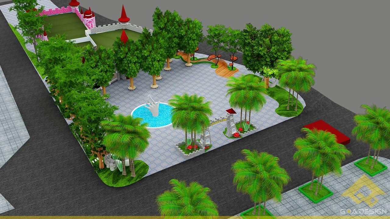 GOADESIGN Thiết kế khu vui chơi Lâu đài kỳ thú (21)