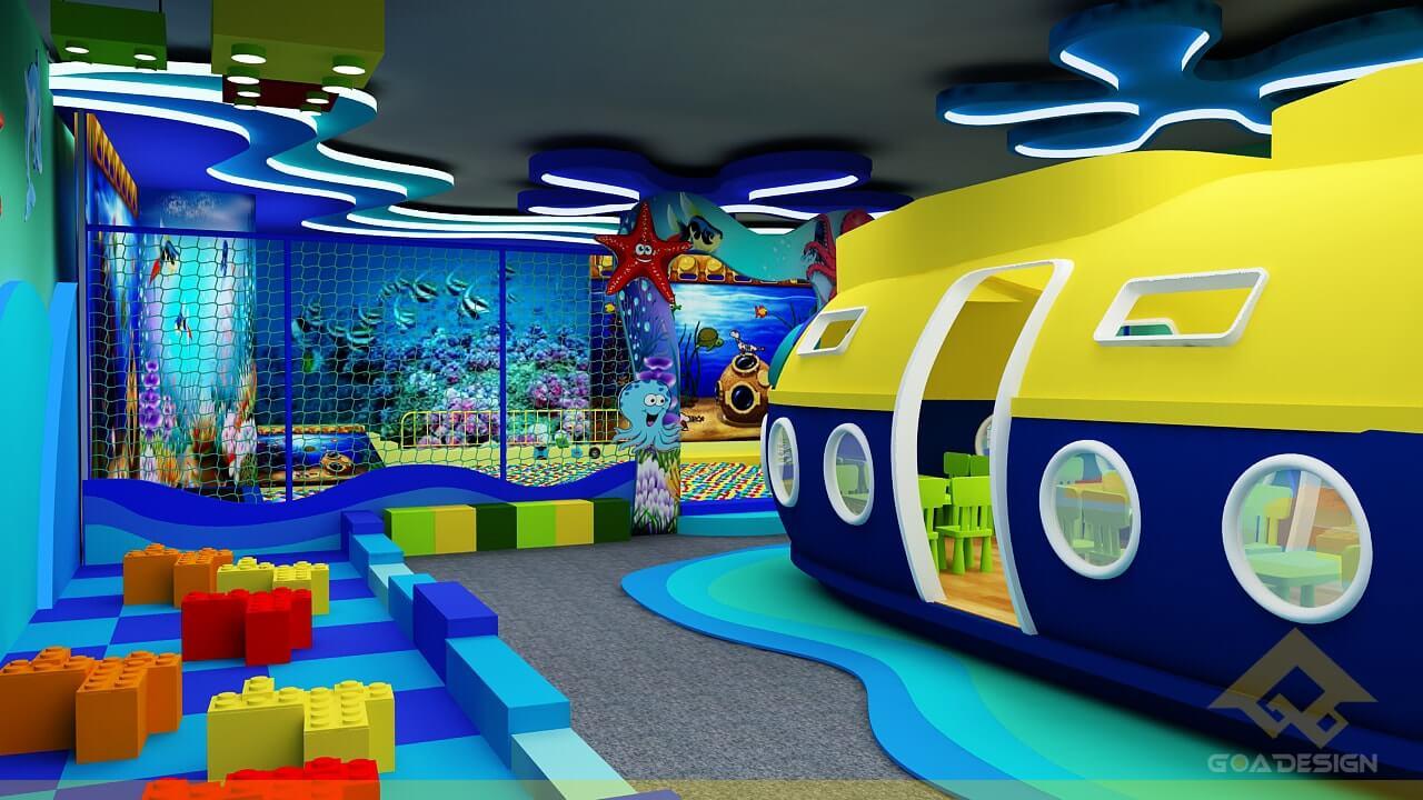 GOADESIGN Thiết kế khu vui chơi Lâu đài kỳ thú (23)