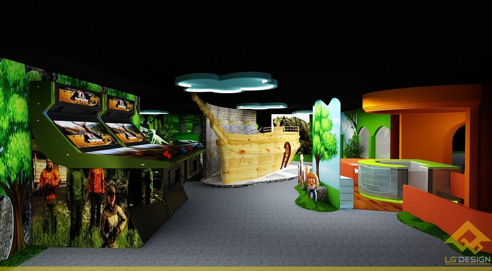GOADESIGN Thiết kế khu vui chơi Lâu đài kỳ thú (24)