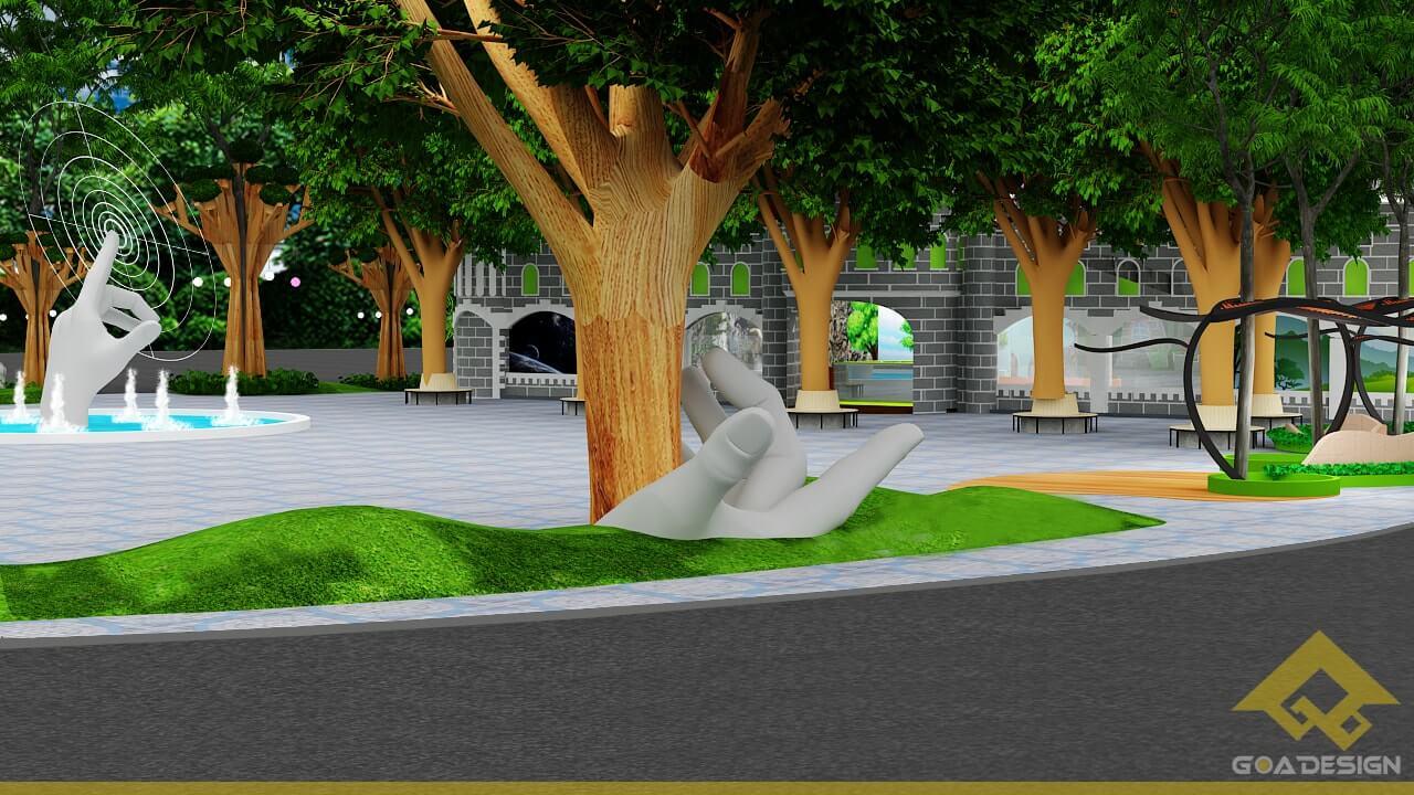 GOADESIGN Thiết kế khu vui chơi Lâu đài kỳ thú (25)