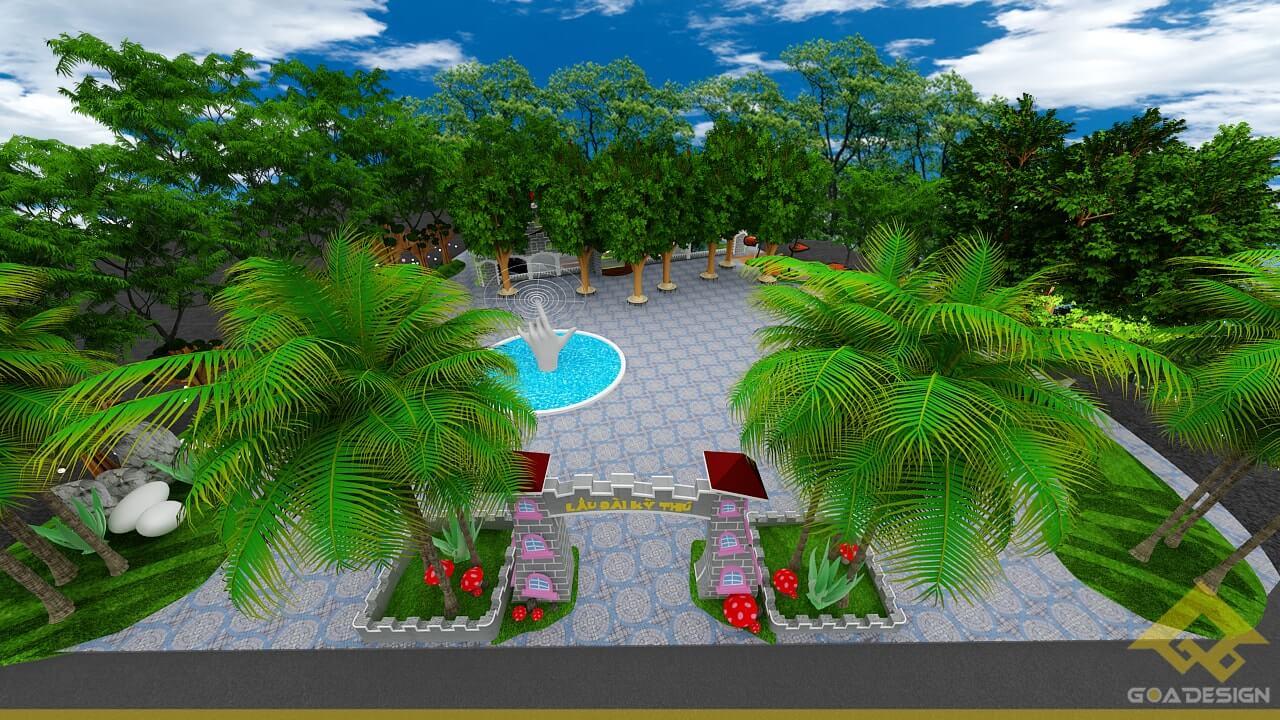GOADESIGN Thiết kế khu vui chơi Lâu đài kỳ thú (26)