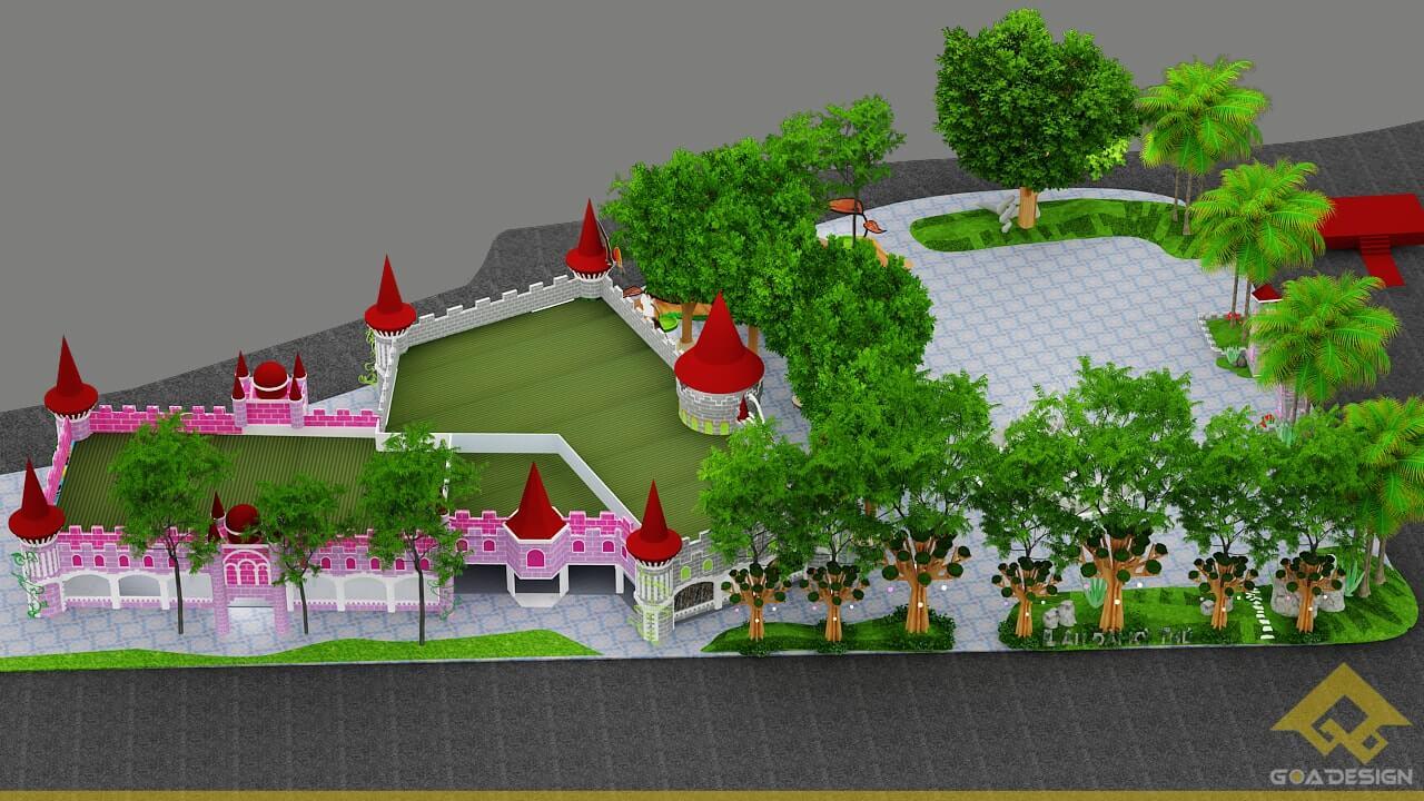 GOADESIGN Thiết kế khu vui chơi Lâu đài kỳ thú (27)