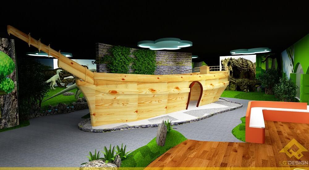 GOADESIGN Thiết kế khu vui chơi Lâu đài kỳ thú (28)