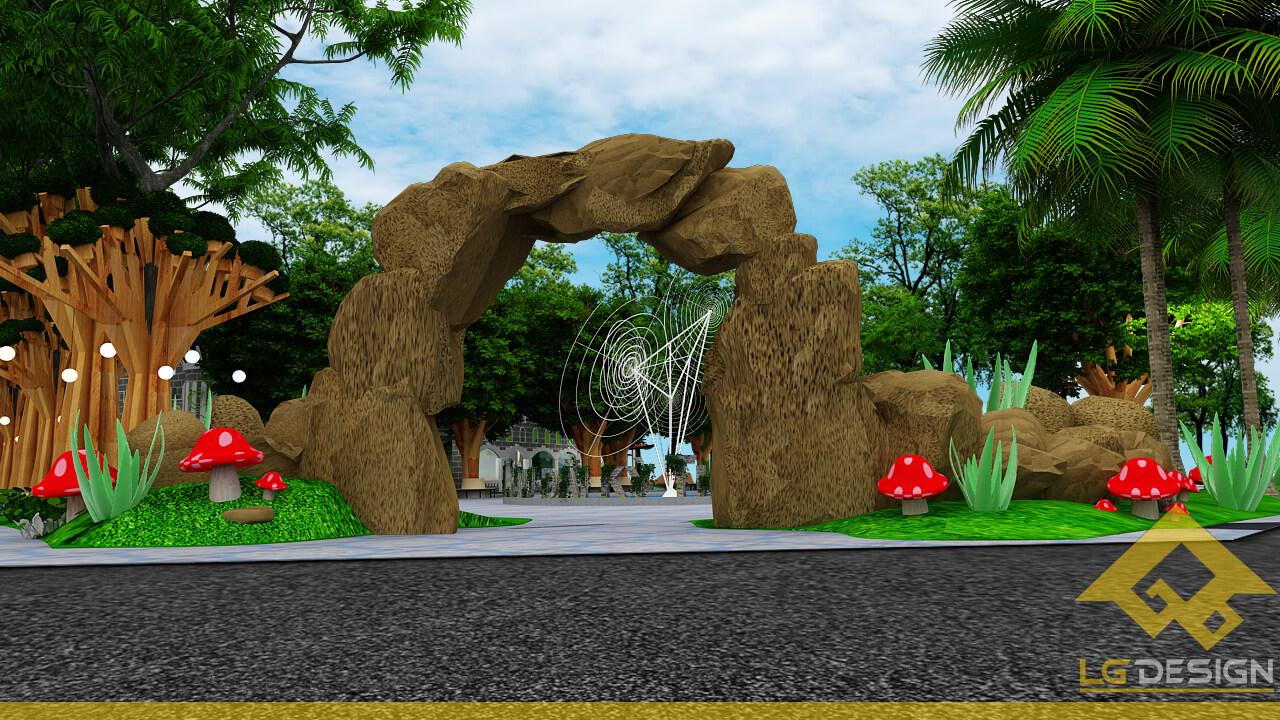 GOADESIGN Thiết kế khu vui chơi Lâu đài kỳ thú (3)