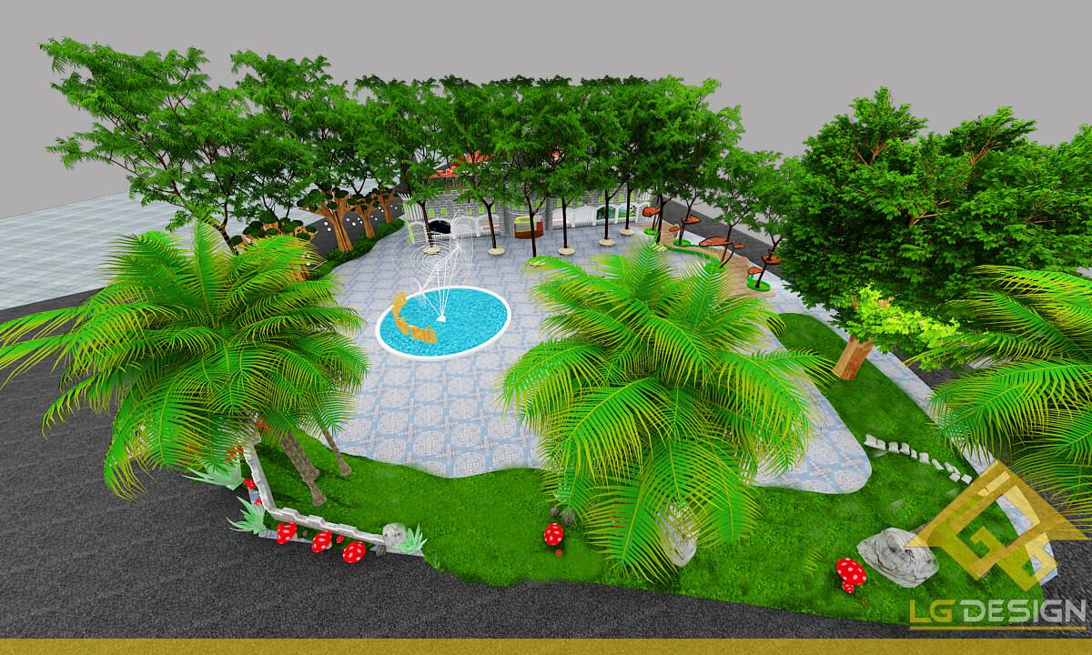 GOADESIGN Thiết kế khu vui chơi Lâu đài kỳ thú (31)