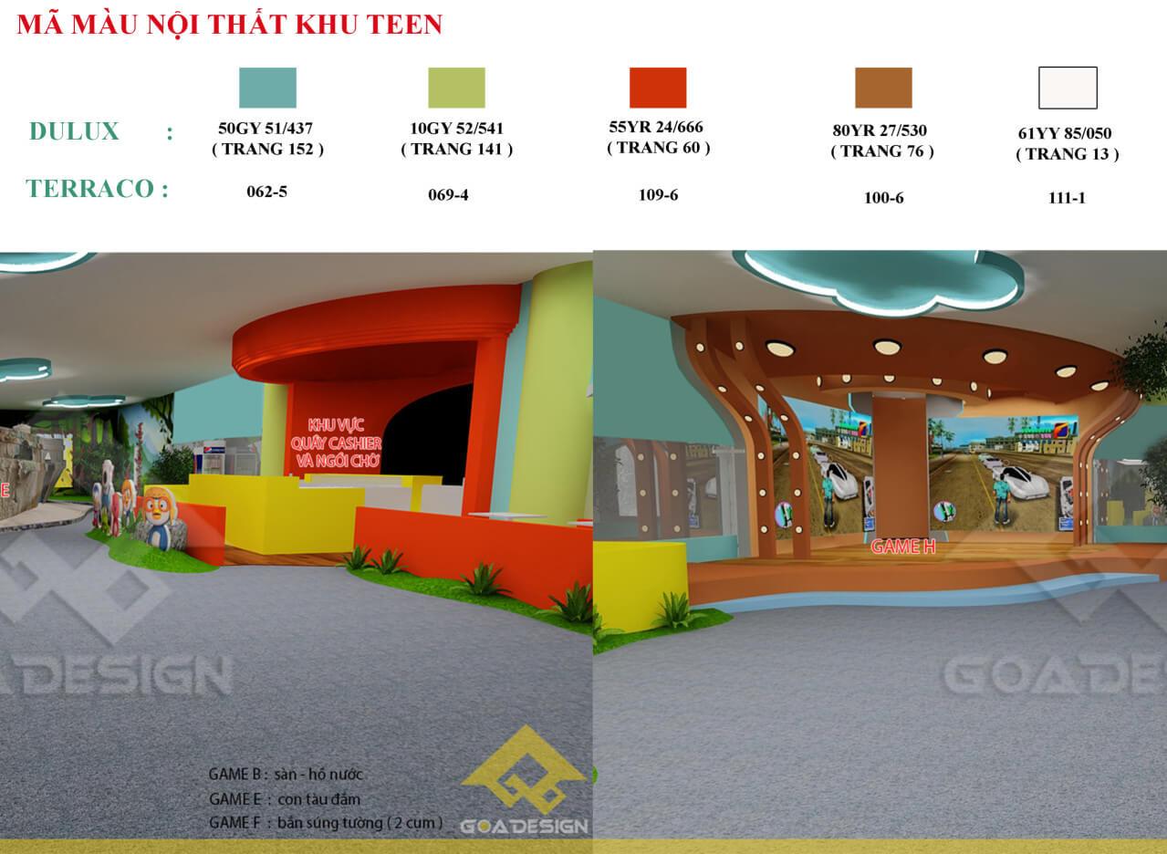 GOADESIGN Thiết kế khu vui chơi Lâu đài kỳ thú (5)
