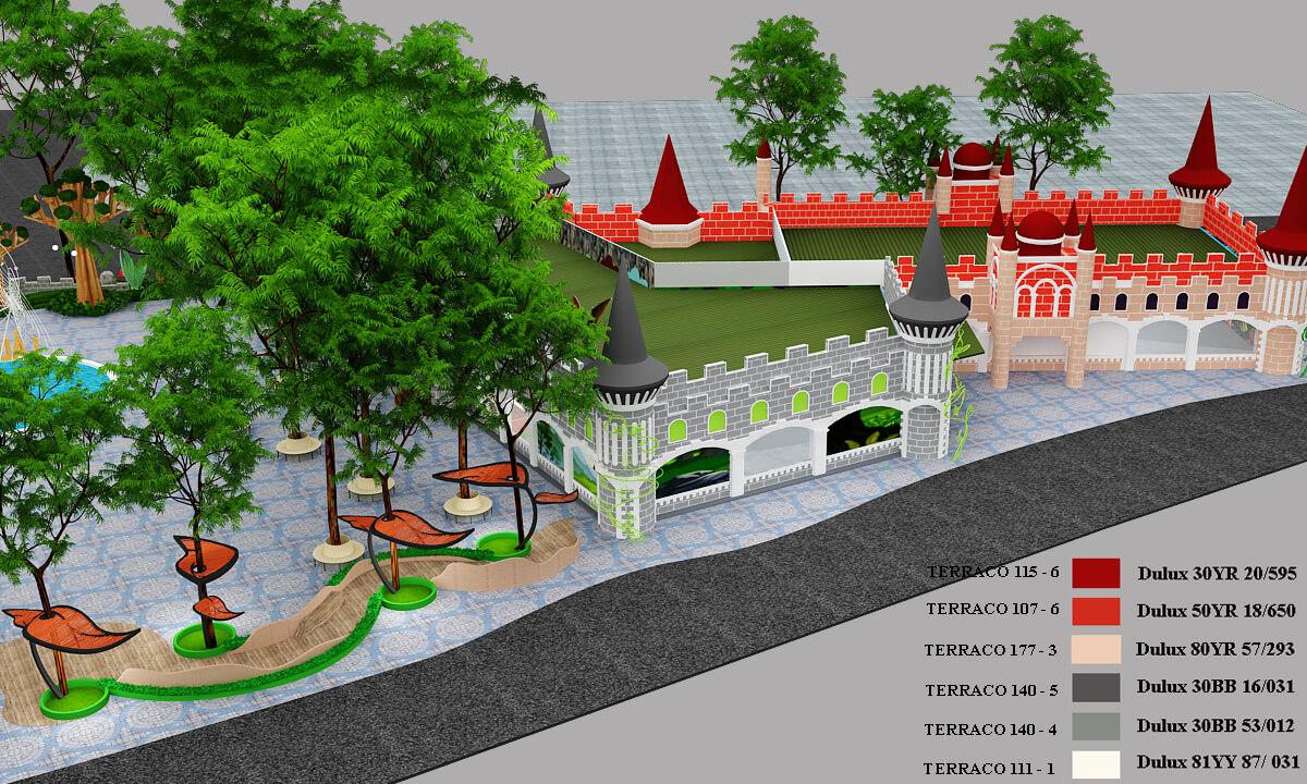GOADESIGN Thiết kế khu vui chơi Lâu đài kỳ thú (6)
