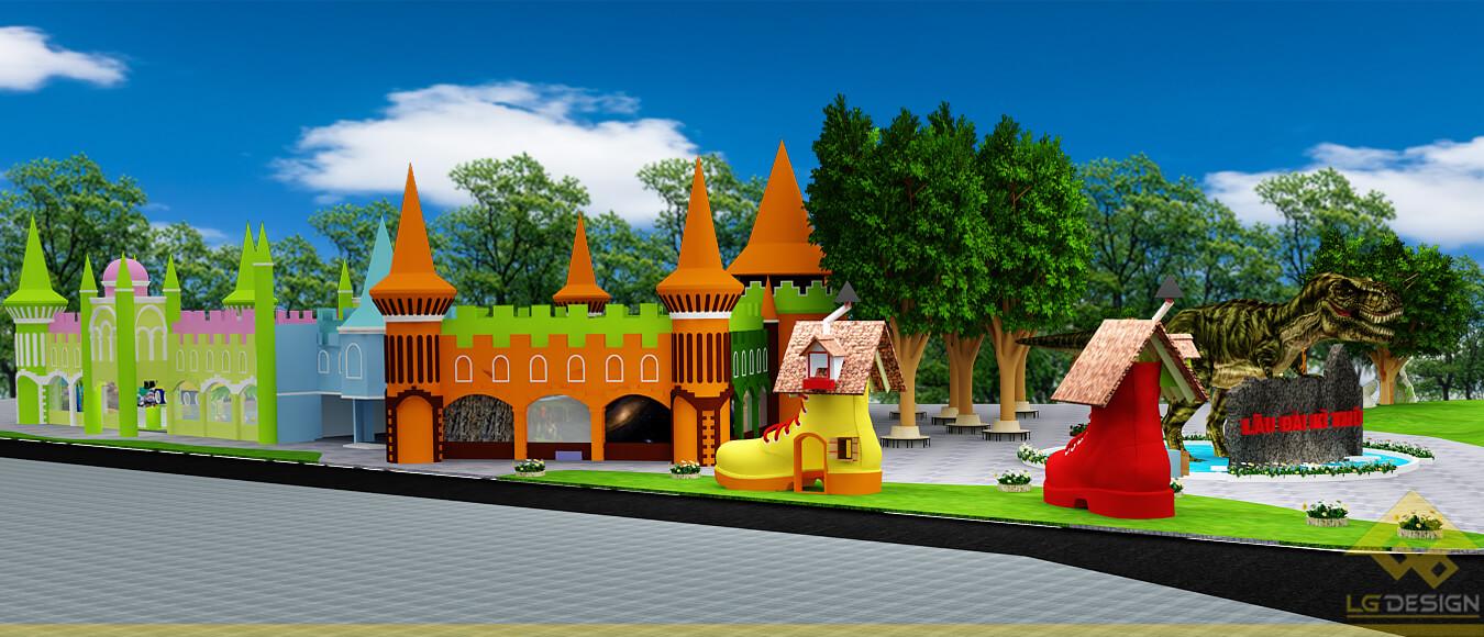 GOADESIGN Thiết kế khu vui chơi Lâu đài kỳ thú (7)