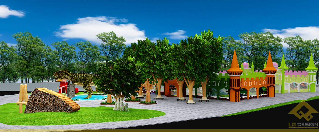 GOADESIGN Thiết kế khu vui chơi Lâu đài kỳ thú (8)