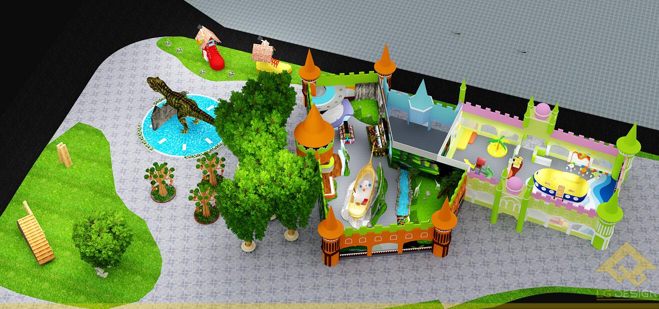GOADESIGN Thiết kế khu vui chơi Lâu đài kỳ thú (9)