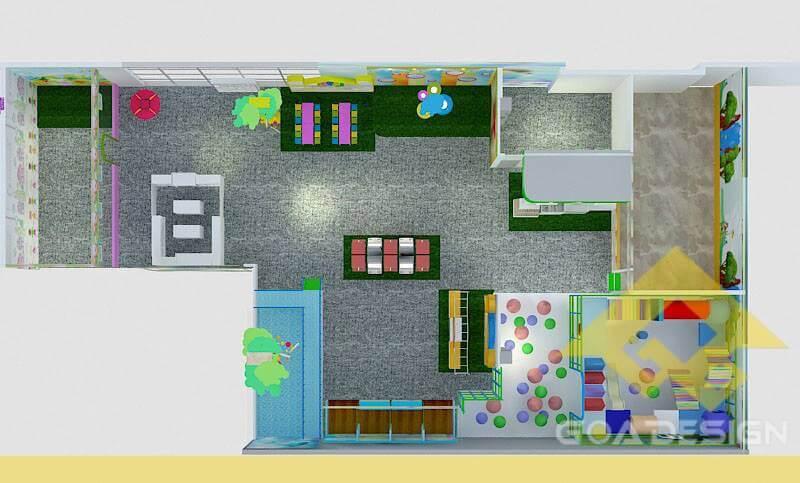 GOADESIGN Thiết kế khu vui chơi gamezone - Cần Thơ (1)