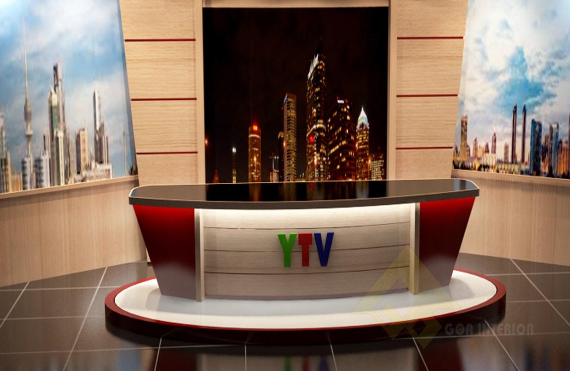 GOADESIGN Thiết kế phim trường - đài truyền hình Yên Bái (1)