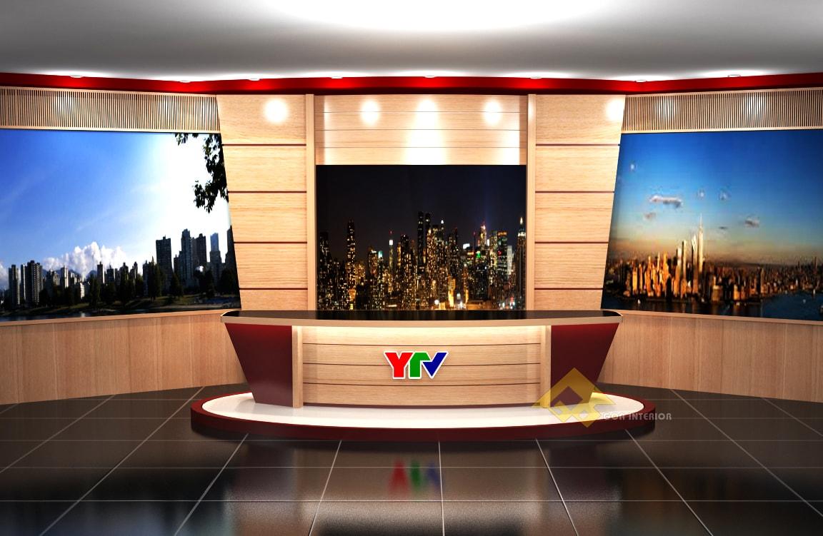 GOADESIGN Thiết kế phim trường - đài truyền hình Yên Bái (4)