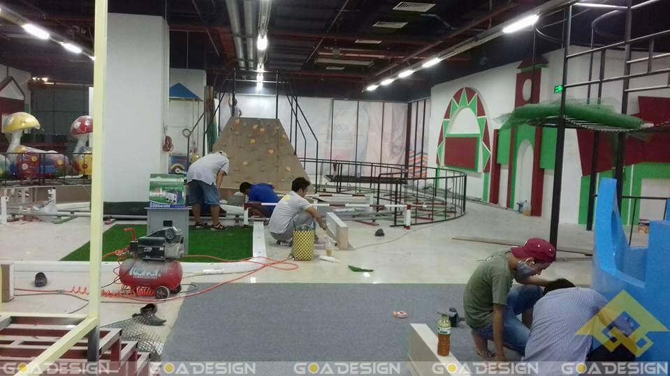 GOADESIGN Thiết kế thi công khu vui chơi Pico Urban Tân Bình (3)