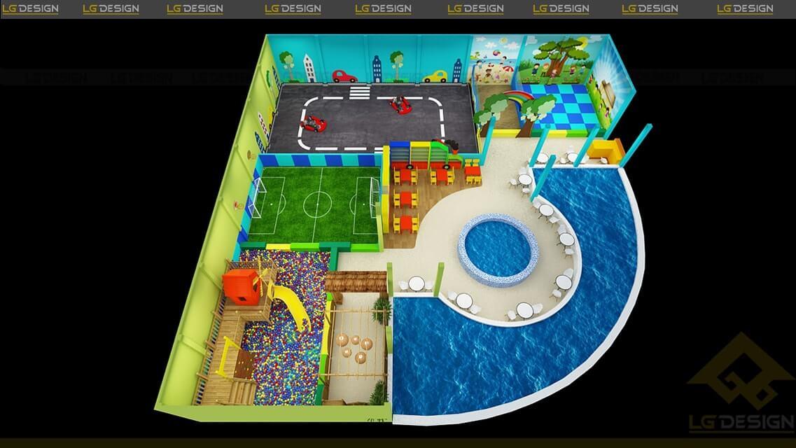 GOADESIGN Thiết kế thi công khu vui chơi Xì Trum - Gia Lai (15)