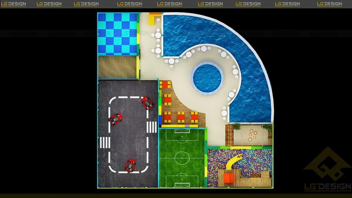 GOADESIGN Thiết kế thi công khu vui chơi Xì Trum - Gia Lai (17)