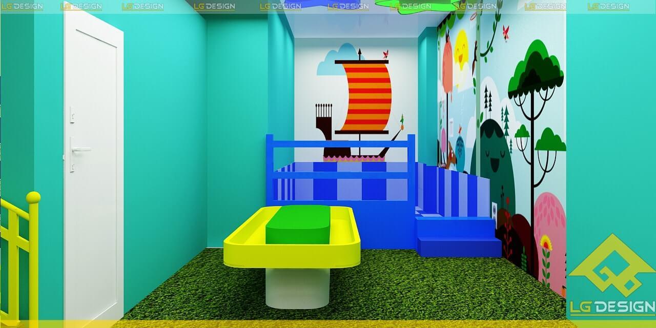 GOADESIGN Thiết kế thi công khu vui chơi trường mầm non BRVT (13)