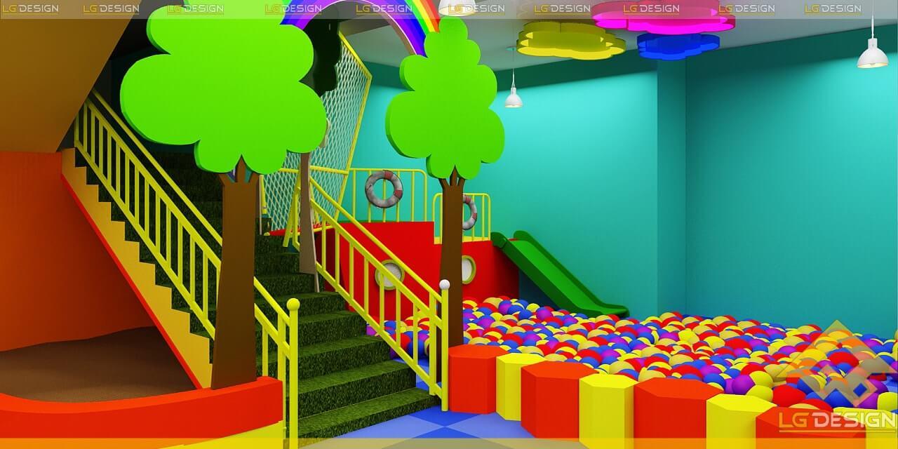 GOADESIGN Thiết kế thi công khu vui chơi trường mầm non BRVT (3)
