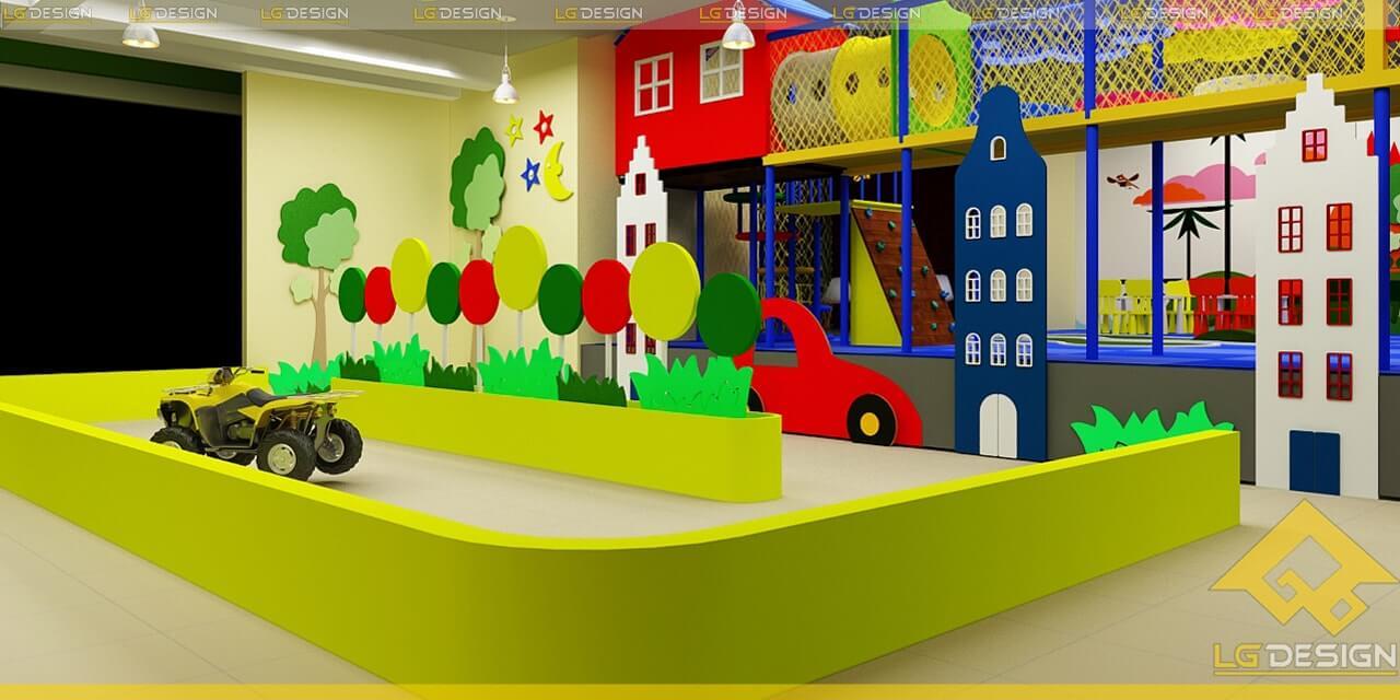GOADESIGN Thiết kế thi công khu vui chơi trường mầm non BRVT (4)
