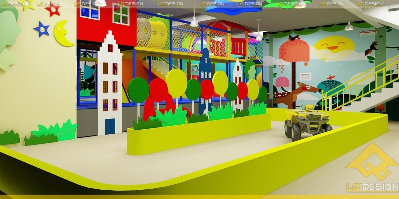 GOADESIGN Thiết kế thi công khu vui chơi trường mầm non BRVT (5)
