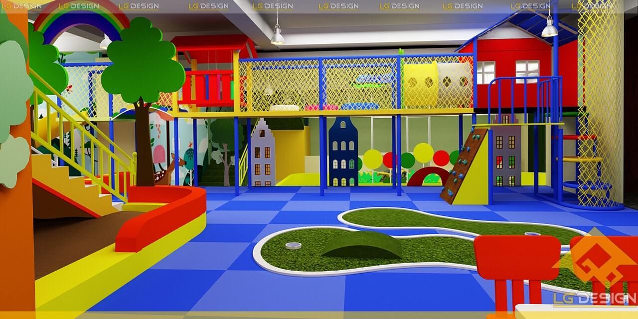 GOADESIGN Thiết kế thi công khu vui chơi trường mầm non BRVT (6)