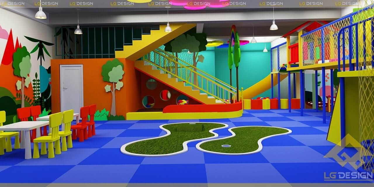 GOADESIGN Thiết kế thi công khu vui chơi trường mầm non BRVT (8)