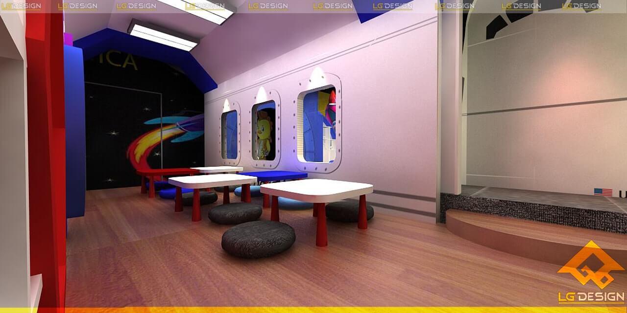 GOADESIGN thiết kế thi công khu vui chơi Tiniworld Tân Bình (1)