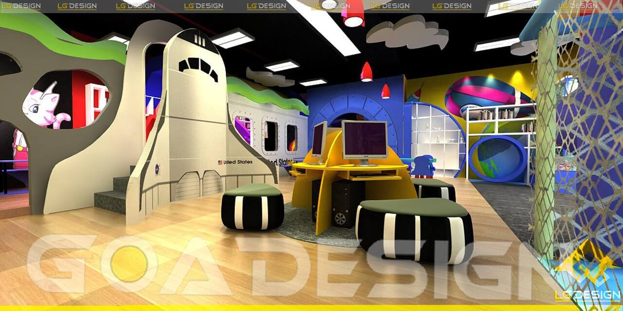 GOADESIGN thiết kế thi công khu vui chơi Tiniworld Tân Bình (10)
