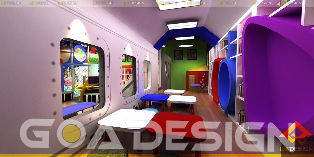 GOADESIGN thiết kế thi công khu vui chơi Tiniworld Tân Bình (4)