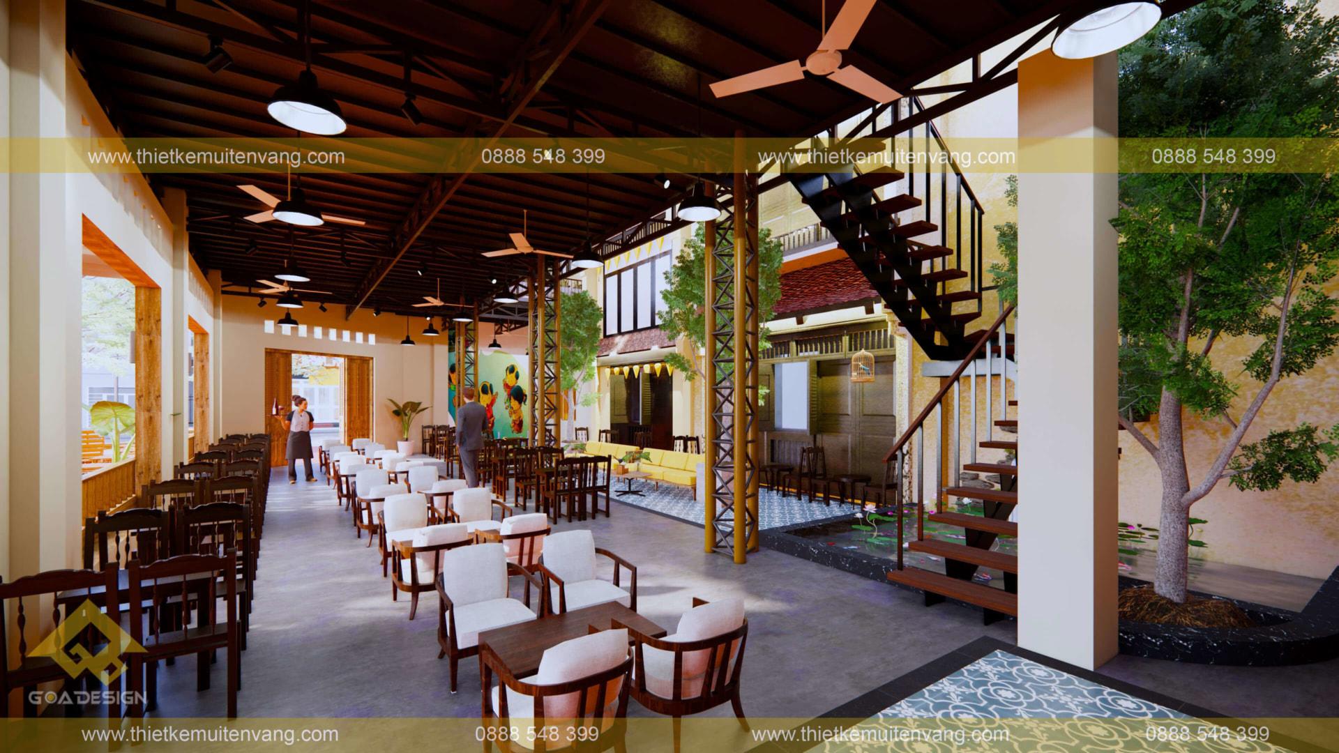 GOADESIGN Tư vấn-thiết kế-thi công FAN CAFE - DĨ AN (3)
