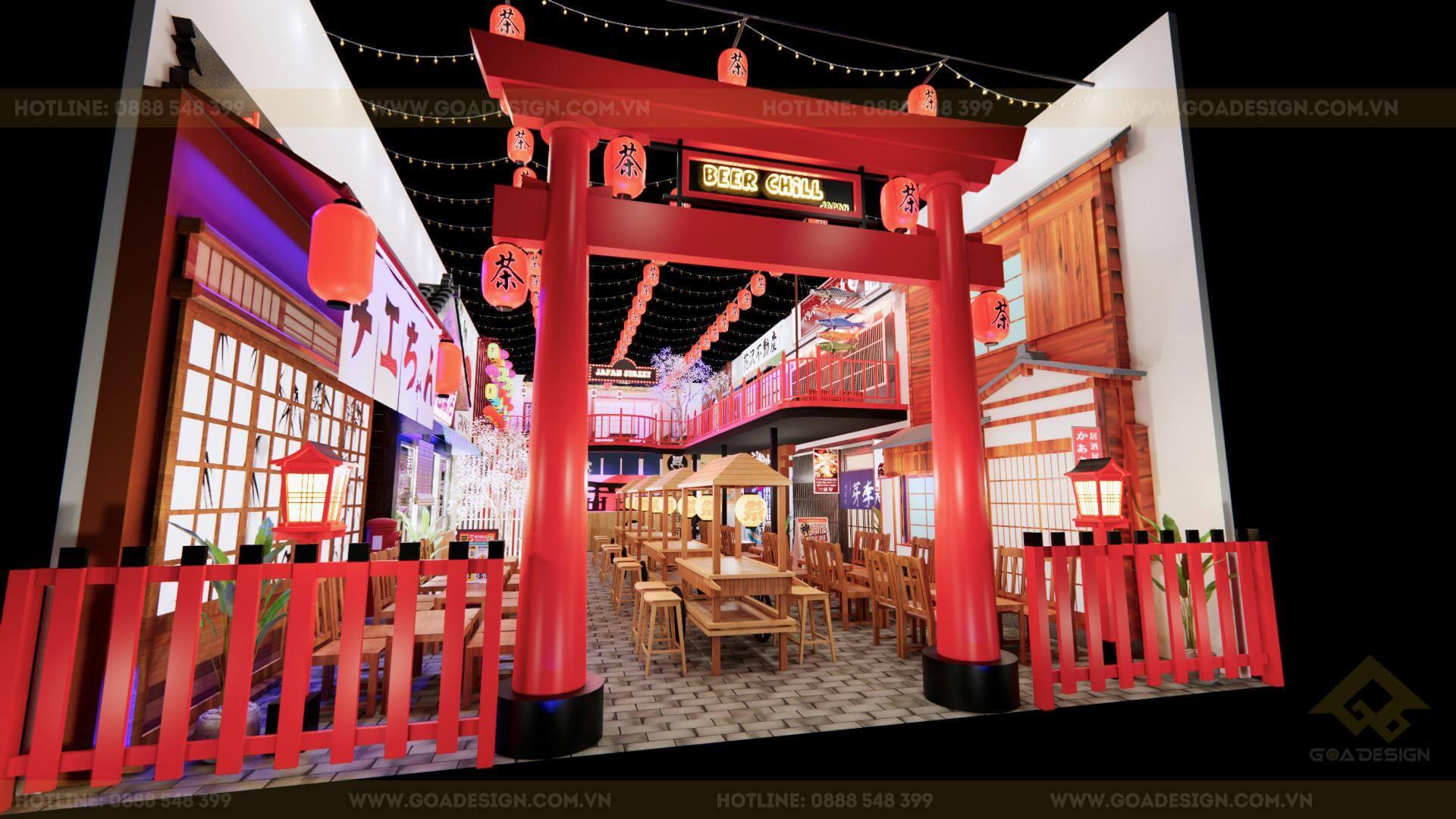 GOADESIGN Tư vấn thiết kế thi công phim trường chụp ảnh-concept Nhật Bản (2)